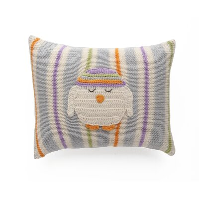 Windley Mini Owl 100% Cotton Throw Pillow