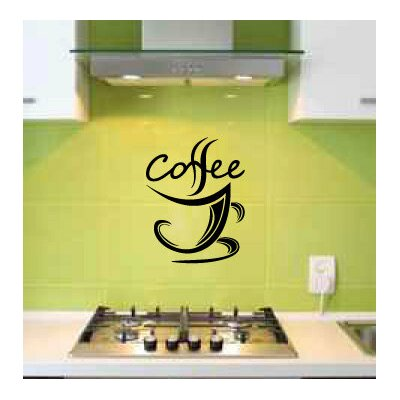 Dellinger Coffee Cup Wall Decal WNSP2405 44674842