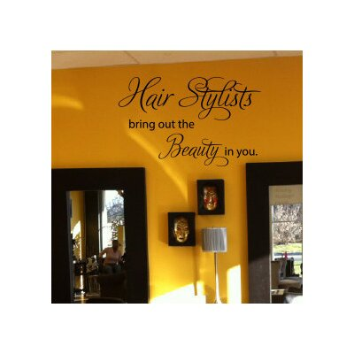 Pai Hair Stylists Bring out the Beauty in You Wall Decal RDBA3757 44674441