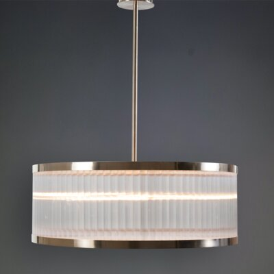 Raffaele 8-Light LED Drum Pendant