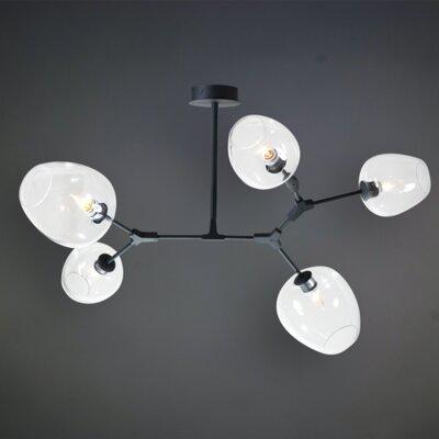Ruben 5-Light LED Geometric Pendant