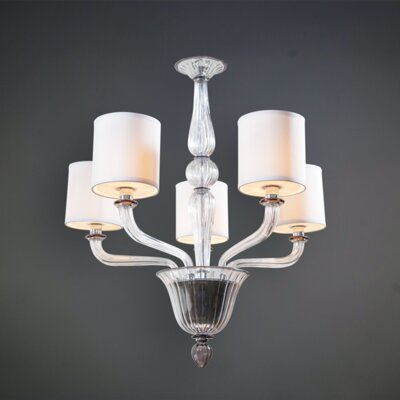 Ahern 5-Light LED Drum Chandelier