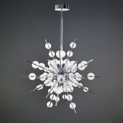 Rexdale 8-Light LED Geometric Pendant
