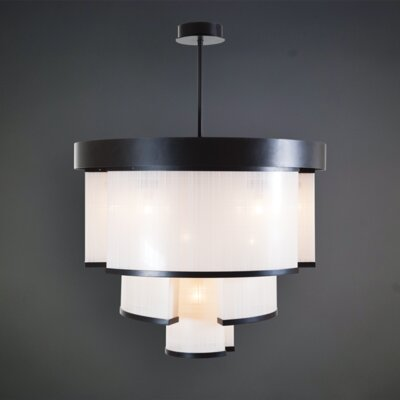 Raby 9-Light LED Drum Pendant