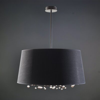 Rader 6-Light LED Drum Pendant