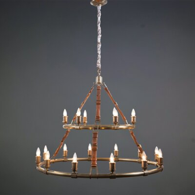 Cote 18-Light LED Candle-Style Chandelier