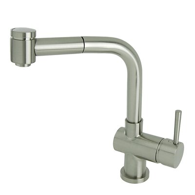 Modern Industrial Pull Out Single Handle Kitchen Faucet