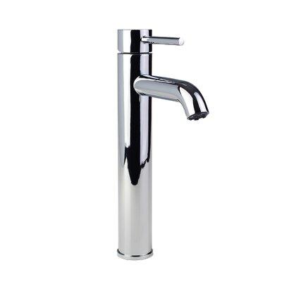 European Vessel Single Hole Lever Handle Bathroom Faucet Finish: Chrome