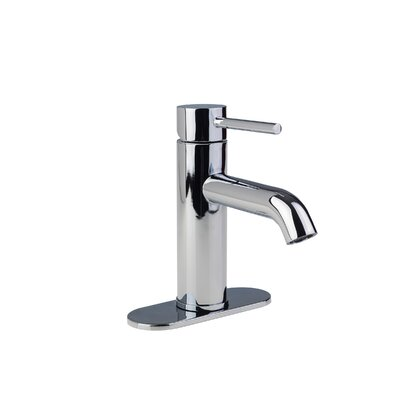 European Single Post Centerset Single Handle Bathroom Faucet Finish: Chrome