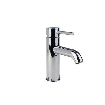 European Single Hole Lever Handle Bathroom Faucet Finish: Chrome