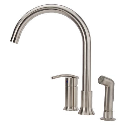 Vincennes Single Handle Kitchen Faucet with Side Spray
