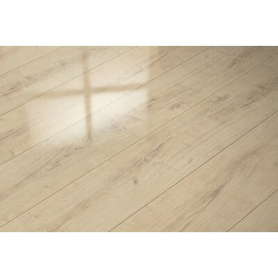 7 x 51 x 9mm Oak Laminate Flooring in Beige