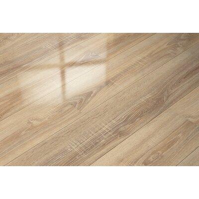 7 x 51 x 9mm Oak Laminate Flooring in Tan