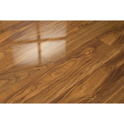 7 x 51 x 9mm Walnut Laminate Flooring in Tan