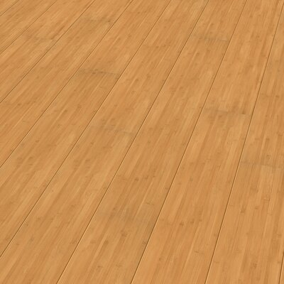 7 x 51 x 9mm Bamboo Laminate Flooring in Tan