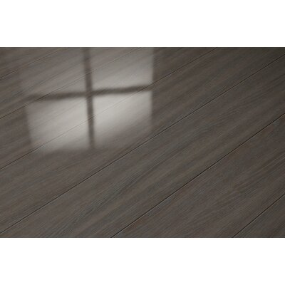 7 x 47 x 8mm Oak Laminate Flooring in Brown