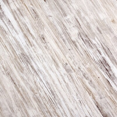 7 x 51 x 9mm Laminate Flooring in White/Gray