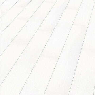 7 x 51 x 9mm Laminate Flooring in White