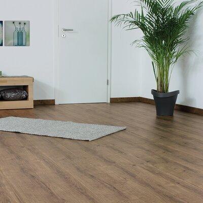 7 x 47 x 11mm Oak Laminate Flooring in Brown