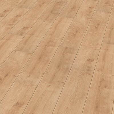 7 x 47 x 11mm Oak Laminate Flooring in Tan