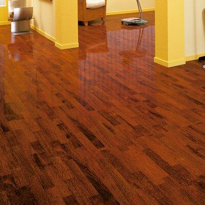 7 x 47 x 7mm Merbau Laminate Flooring in Brown