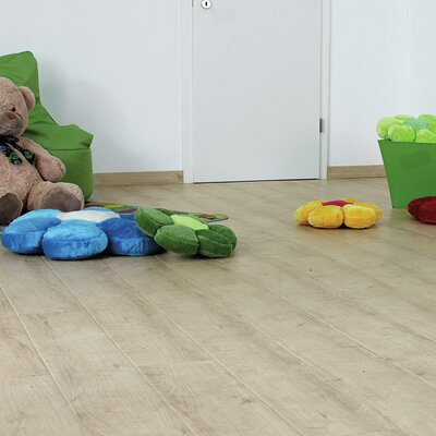 7 x 47 x 11mm Oak Laminate Flooring in Beige