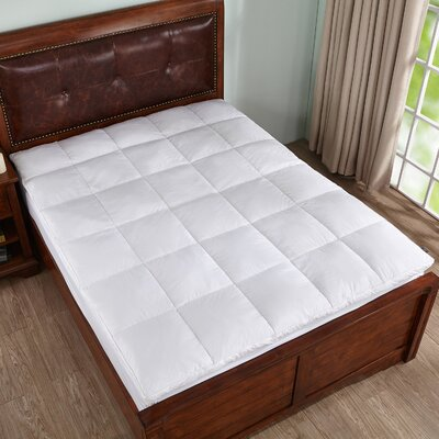 Goose Feather Mattress Topper Size: Queen