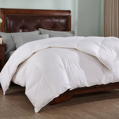 Midweight Down Comforter Size: Full/Queen