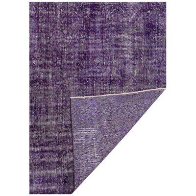 Bogen Vintage Hand-Knotted Wool Purple Area Rug