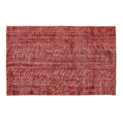 Bogen Vintage Hand-Knotted Wool Red Area Rug