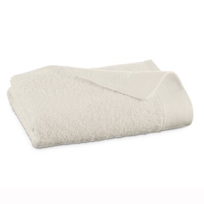 Marquette Terry Flax Bath Towel Color: Ivory