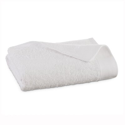 Marquette Terry Flax Bath Towel Color: White