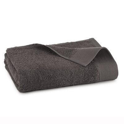 Marquette Terry Flax Bath Towel Color: Iron