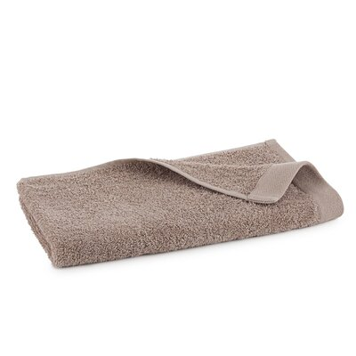 Marquette Terry Flax Hand Towel Color: Linen