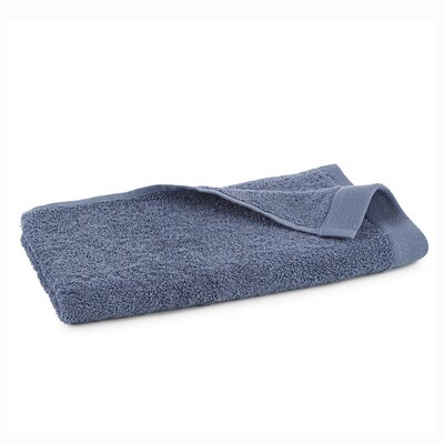 Marquette Terry Flax Hand Towel Color: Pacific Blue