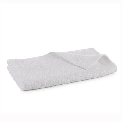 Marquette Terry Flax Hand Towel Color: White