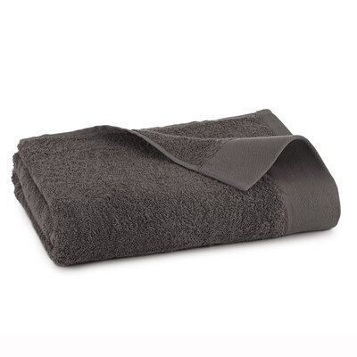 Marquette Terry Flax Hand Towel Color: Iron