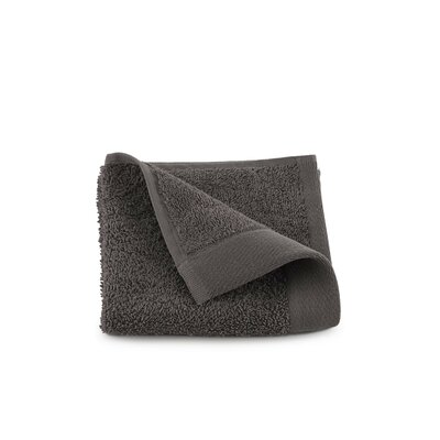 Marquette Terry Flax Wash Cloth Color: Iron