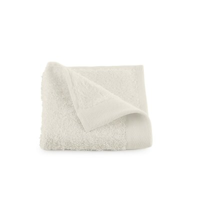 Marquette Terry Flax Wash Cloth Color: Ivory