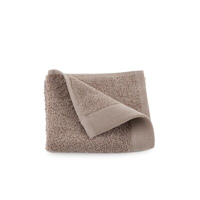 Marquette Terry Flax Wash Cloth Color: Linen