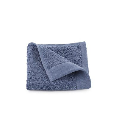 Marquette Terry Flax Wash Cloth Color: Pacific Blue