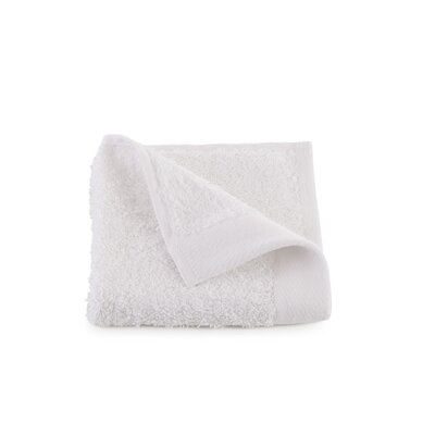Marquette Terry Flax Wash Cloth Color: White
