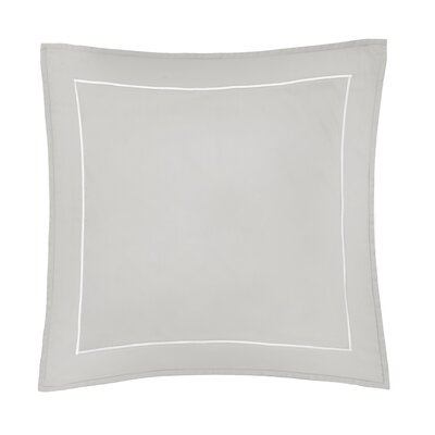 Beerman Satin Stitch Sham Size: Euro, Color: Gray/White