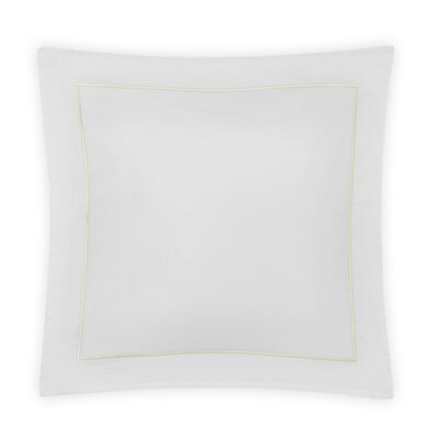 Beerman Satin Stitch Sham Size: King, Color: White/Ivory