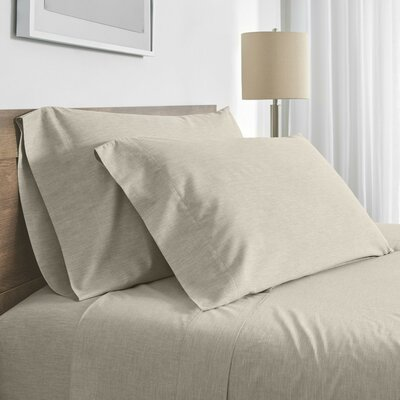 Balboa Fiber Dyed 200 Thread Count 100% Cotton Sheet Set Color: Natural, Size: Queen