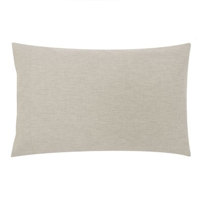 Balderston 200 Thread Count Pillowcase Color: Natural, Size: Twin