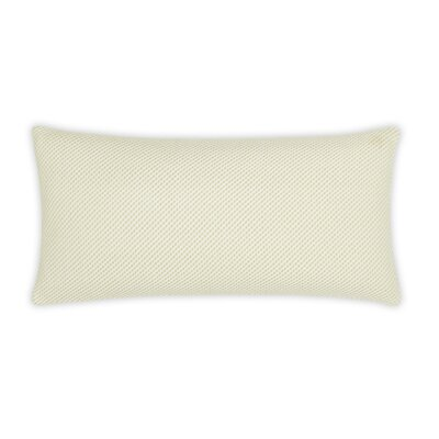 Balboa Textured Diagonal Weave 100% Cotton Lumbar Pillow