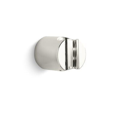 Contemporary Fixed Wall Bracket Finish: Nickel Silver