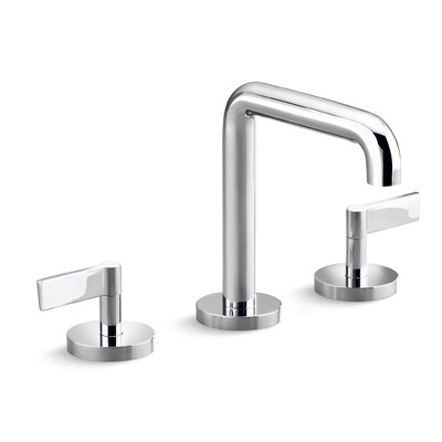 One Widespread Double Handle Bathroom Faucet Finish: Chrome