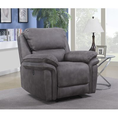 Cannaday Standard Recliner Motion Type: No Motion, Reclining Type: Power Recline